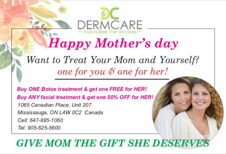 Mothers Day Special Offers at DermCare